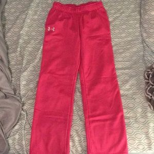 Girl's Under Armour Sweatpants